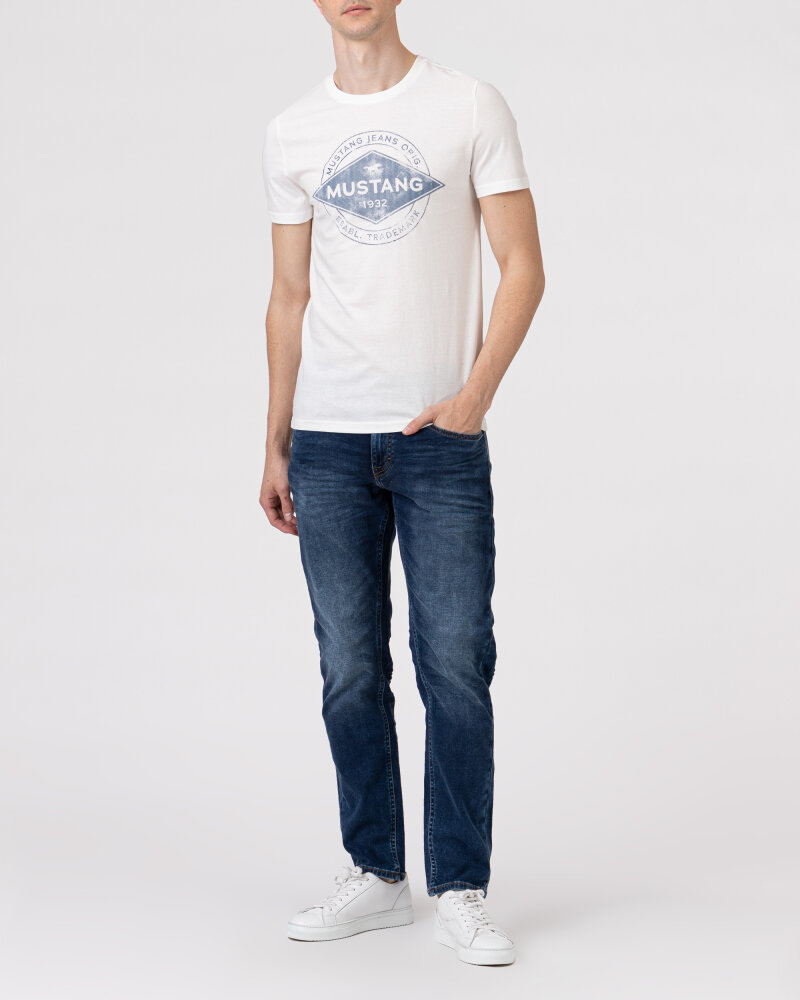 T-Shirt Mustang 1010706_2020 biały - fot:5