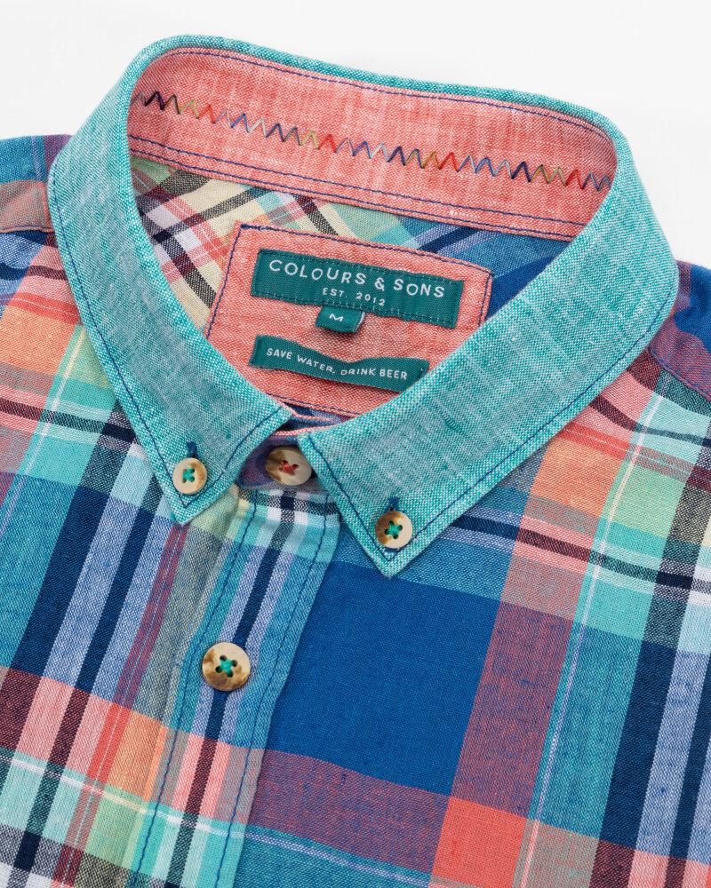Koszula Colours & Sons 9121-300_304 MULTICOLOUR CHEC wielobarwny - fot:2