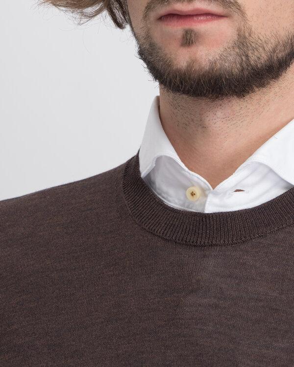 Sweter Oscar Jacobson CUSTER 6439_8023_534 brązowy