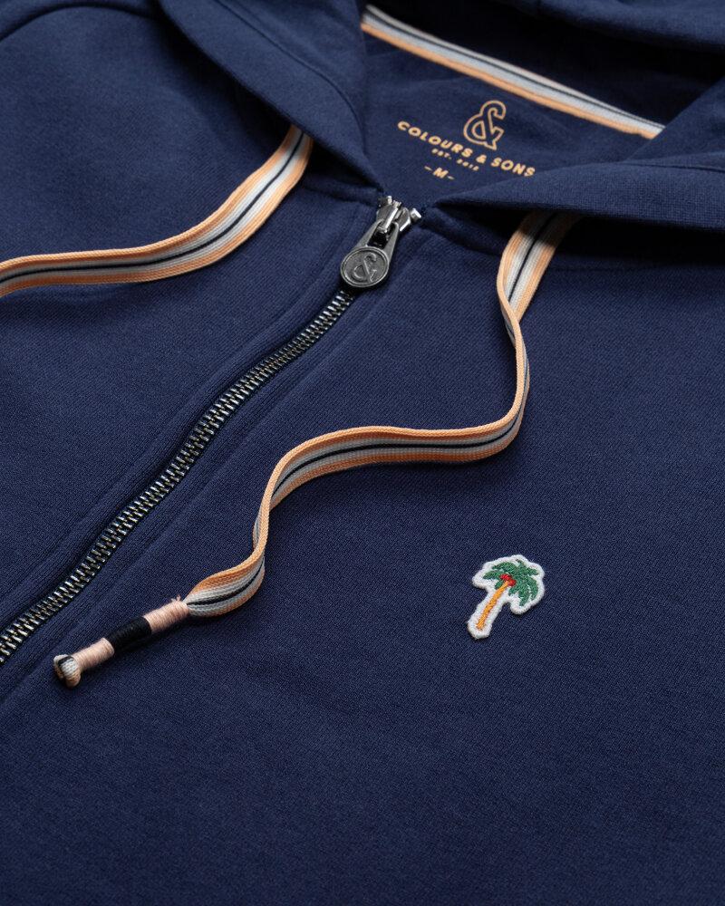 Bluza Colours & Sons 9121-446_699 PALMS granatowy - fot:3