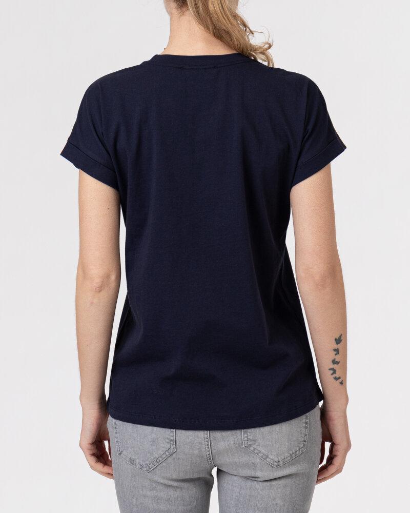 T-Shirt Campione 8682048_121130_85400 Granatowy Campione 8682048_121130_85400 granatowy - fot:4