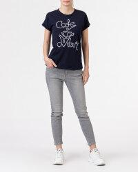 T-Shirt Campione 8682048_121130_85400 granatowy- fot-4