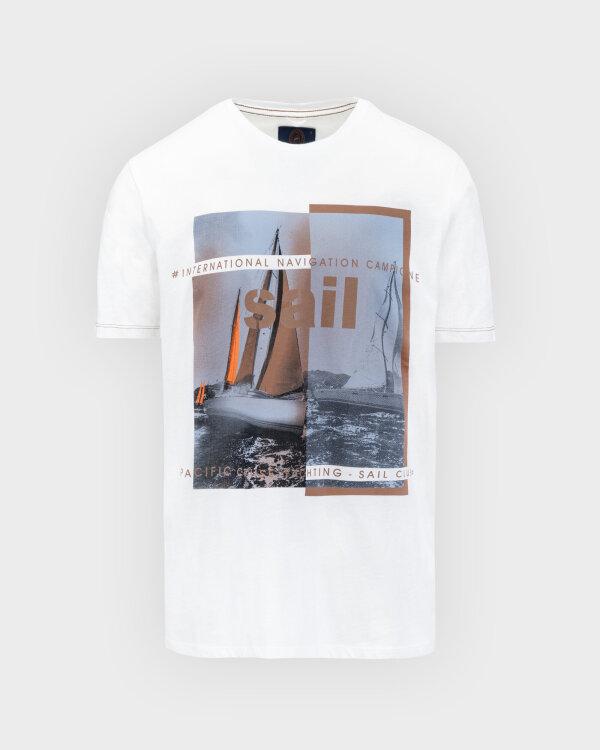 T-Shirt Campione 8097136_111130_40100 Biały Campione 8097136_111130_40100 biały