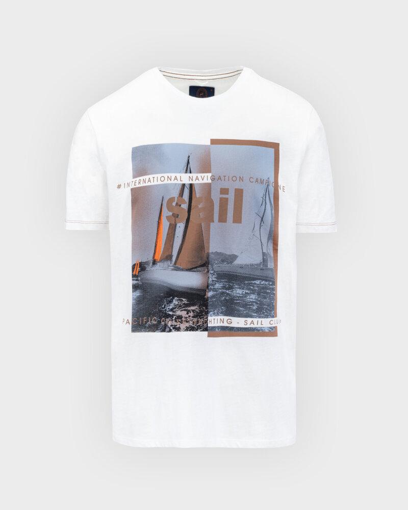 T-Shirt Campione 8097136_111130_40100 Biały Campione 8097136_111130_40100 biały - fot:1