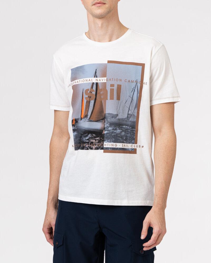 T-Shirt Campione 8097136_111130_40100 biały - fot:4