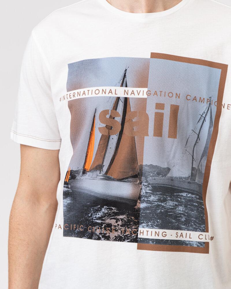 T-Shirt Campione 8097136_111130_40100 biały - fot:5