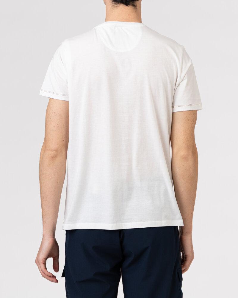 T-Shirt Campione 8097136_111130_40100 biały - fot:2