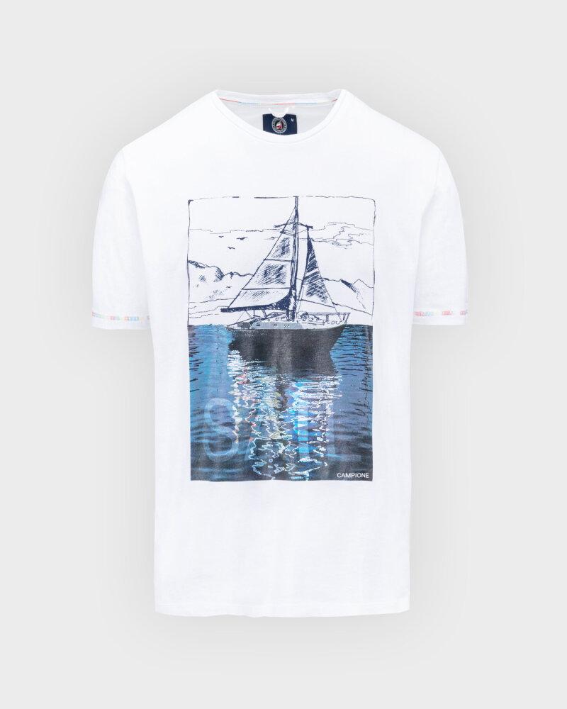 T-Shirt Campione 1098042_111130_10000 biały - fot:1