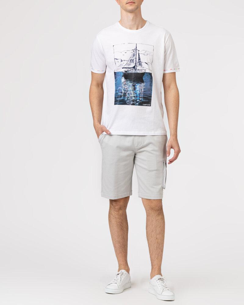 T-Shirt Campione 1098042_111130_10000 biały - fot:5