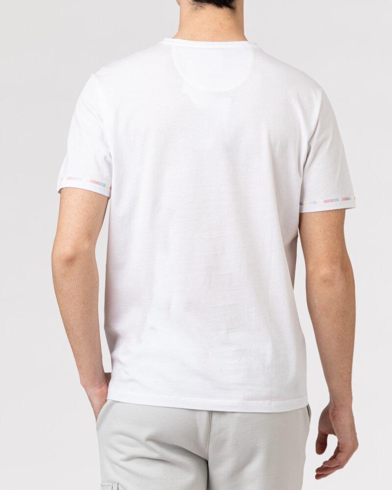T-Shirt Campione 1098042_111130_10000 biały - fot:4