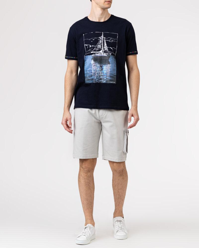 T-Shirt Campione 1098042_111130_85400 granatowy - fot:5