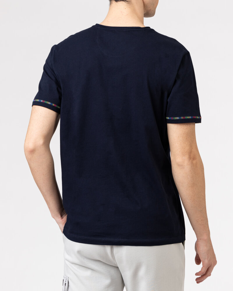 T-Shirt Campione 1098042_111130_85400 granatowy - fot:4
