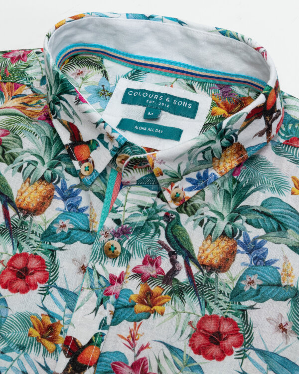 Koszula Colours & Sons 9121-330_303 TROPICAL wielobarwny