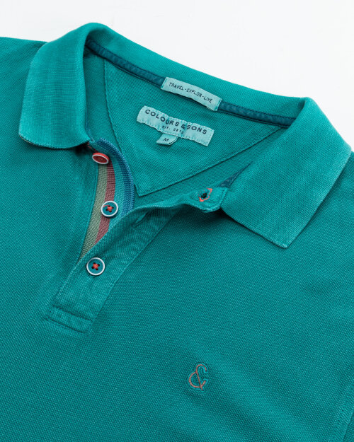 Polo Colours & Sons 9121-460_449 PINE zielony