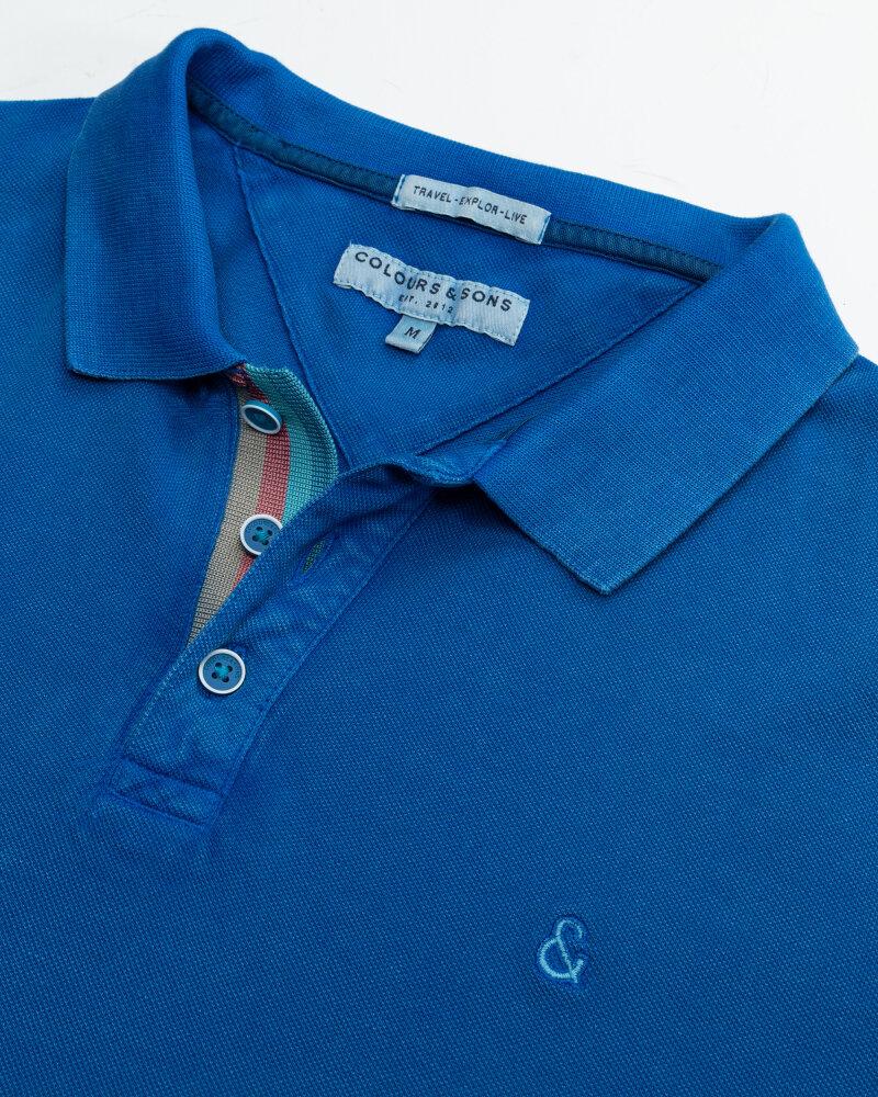 Polo Colours & Sons 9121-460_650 ROYAL niebieski - fot:2