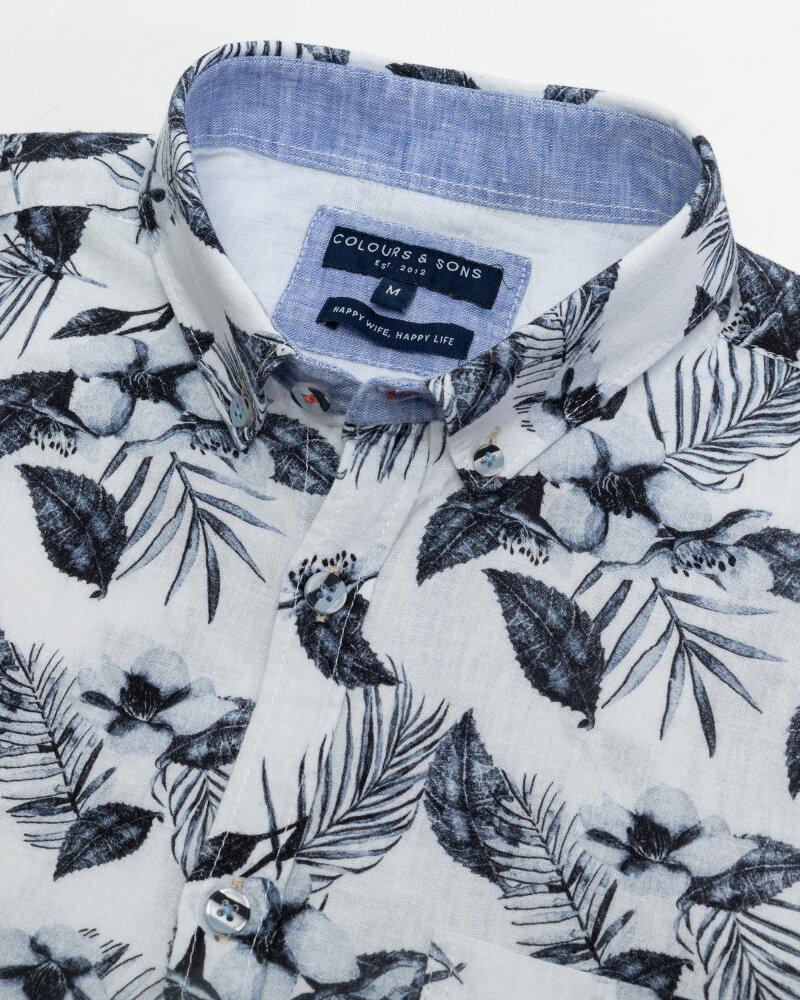 Koszula Colours & Sons 9121-310_314 FLOWER biały - fot:2