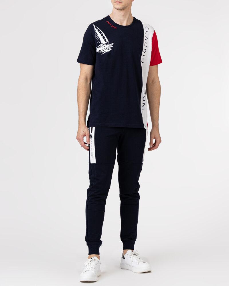 T-Shirt Campione 1318045_111130_85411 granatowy - fot:5
