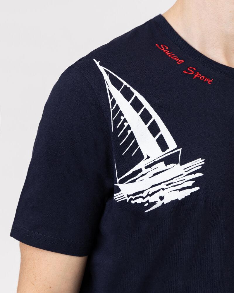 T-Shirt Campione 1318045_111130_85411 granatowy - fot:3