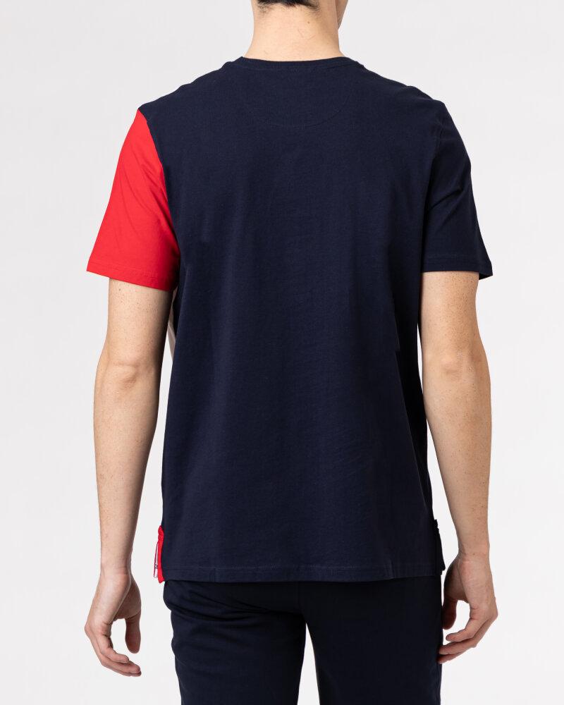 T-Shirt Campione 1318045_111130_85411 granatowy - fot:4