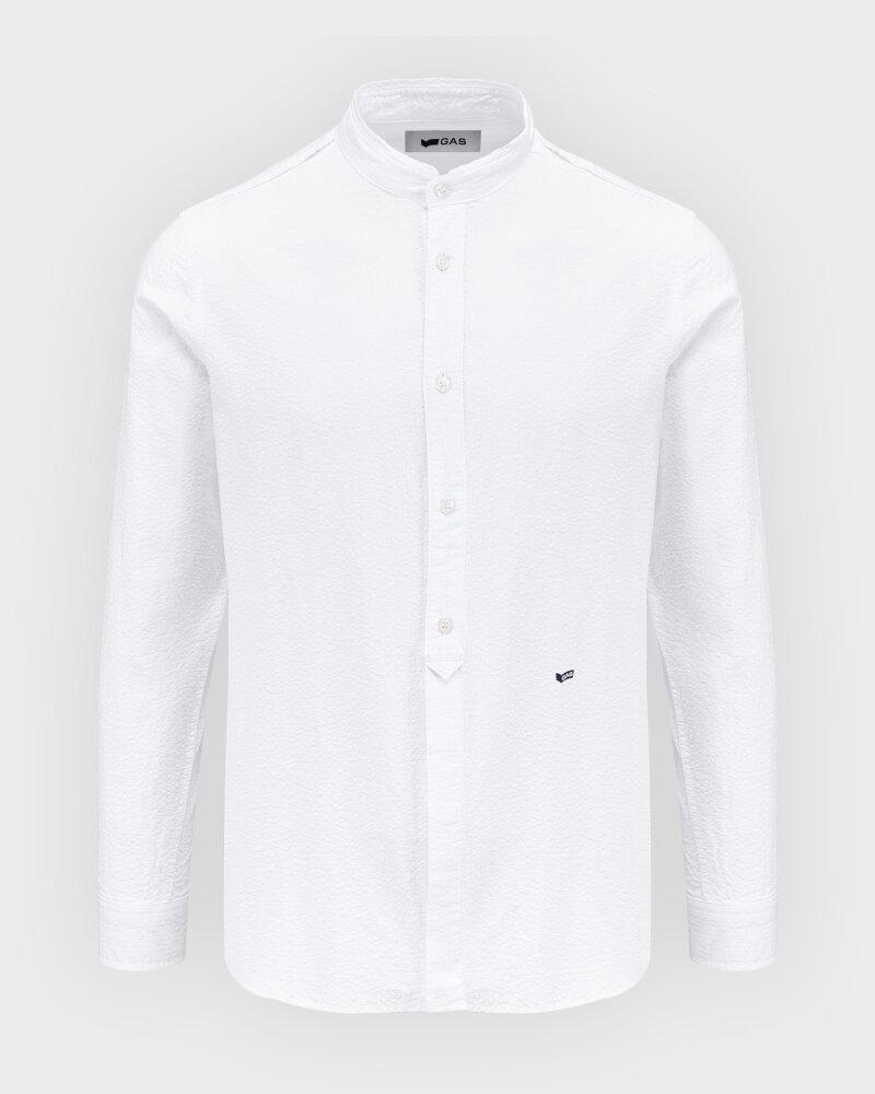 Koszula Gas A1487_Misao/r             _0001 Biały Gas A1487_MISAO/R             _0001 biały - fot:1