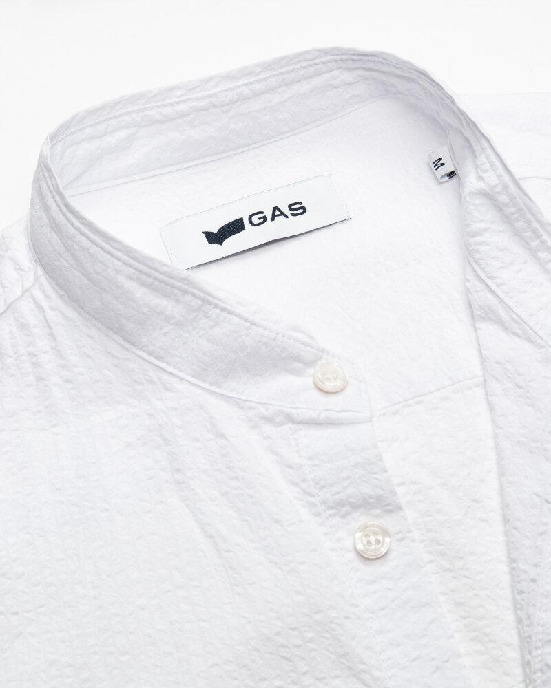 Koszula Gas A1487_Misao/r             _0001 Biały Gas A1487_MISAO/R             _0001 biały - fot:2