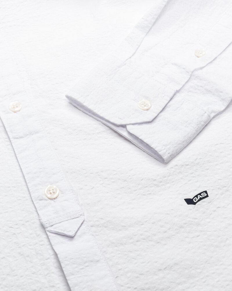 Koszula Gas A1487_Misao/r             _0001 Biały Gas A1487_MISAO/R             _0001 biały - fot:3