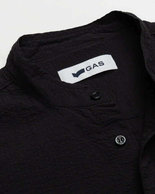 Koszula Gas A1487_MISAO/R             _0200 czarny
