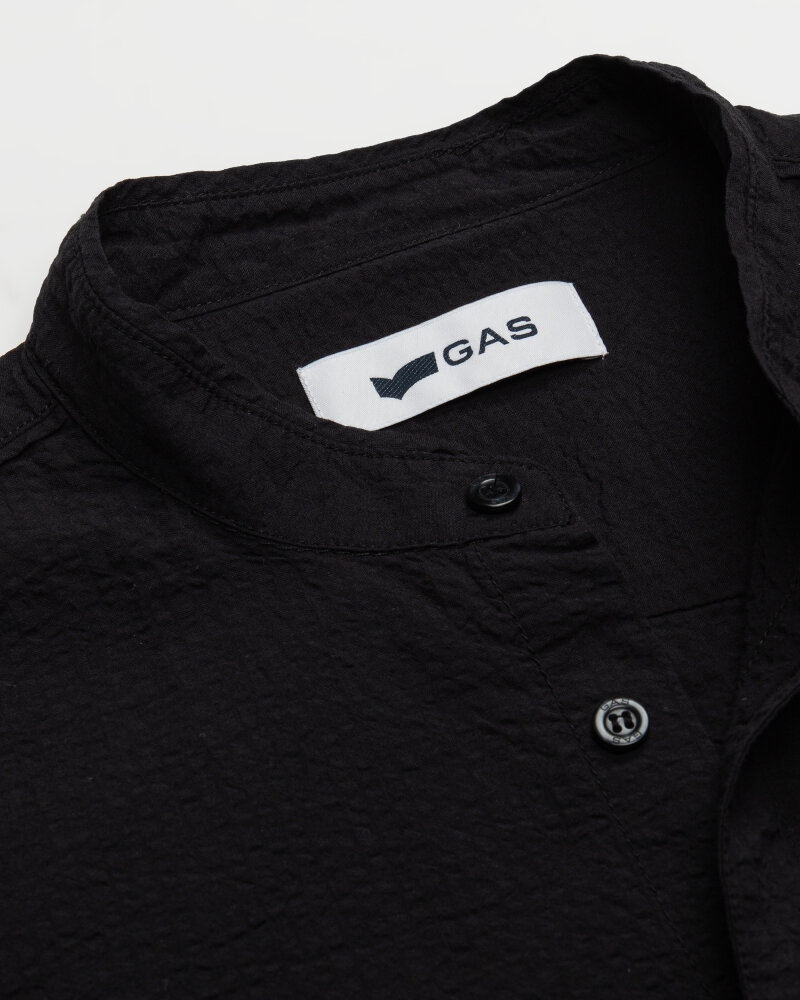 Koszula Gas A1487_MISAO/R             _0200 czarny - fot:2