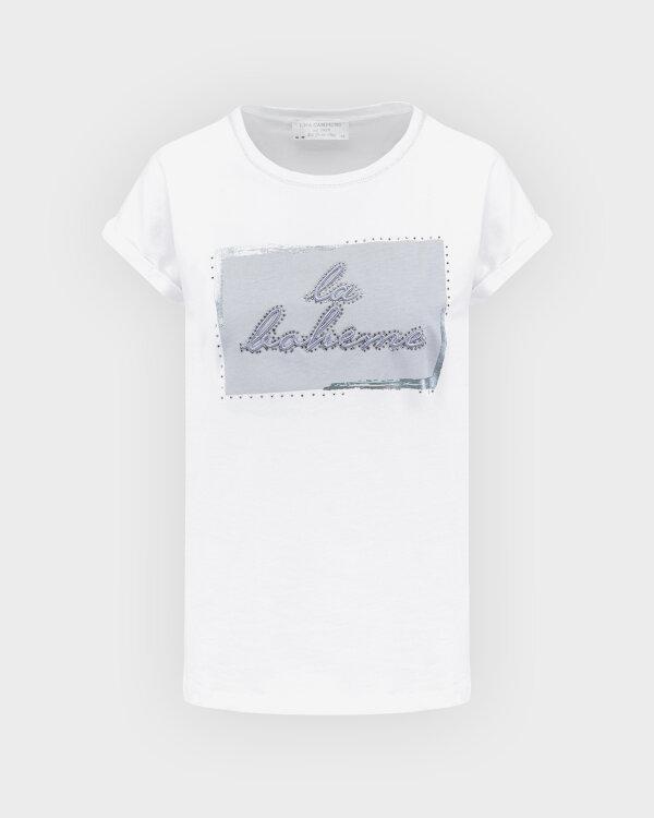 T-Shirt Campione 1723114_121130_10000 Biały Campione 1723114_121130_10000 biały