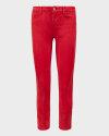 Spodnie Campione 1773711_121410_60100 czerwony