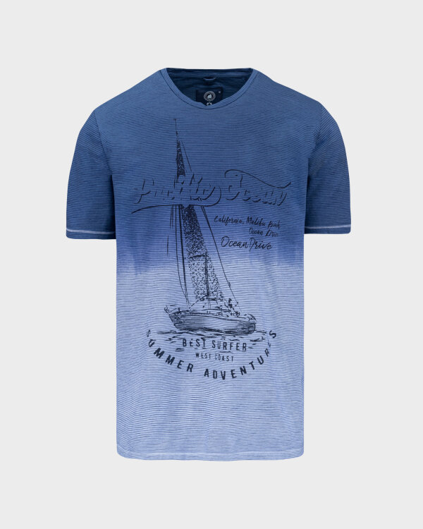 T-Shirt Campione 1098148_111130_84411 niebieski