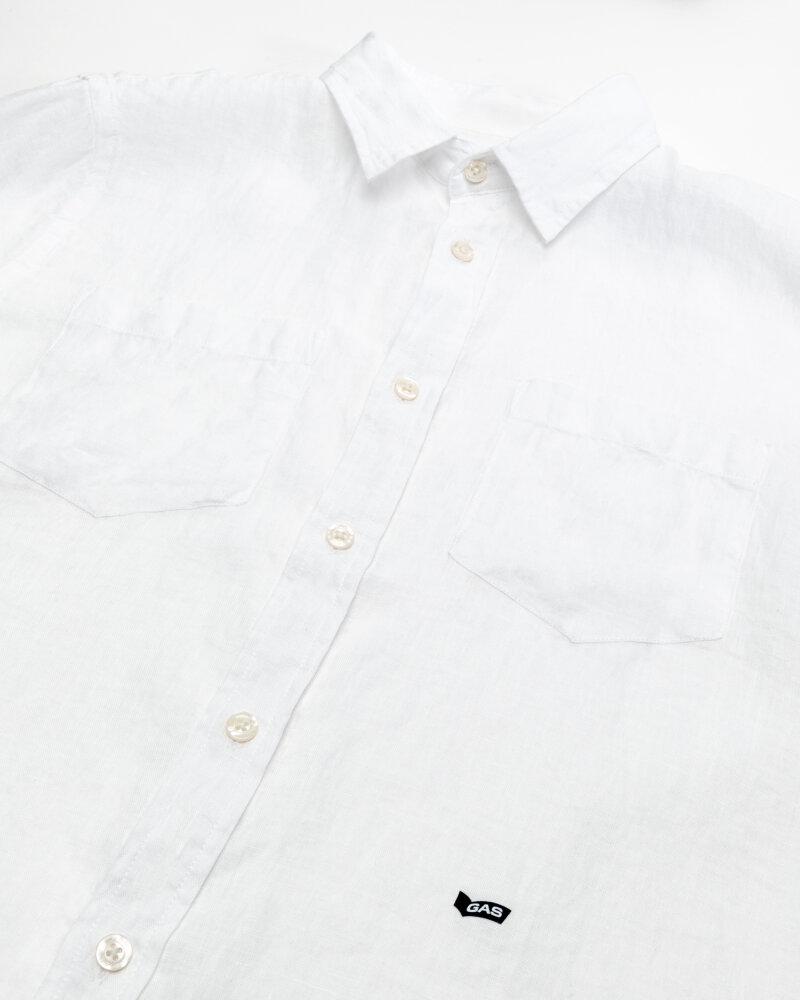 Koszula Gas A1367_DAB M/C PK          _0001 biały - fot:3