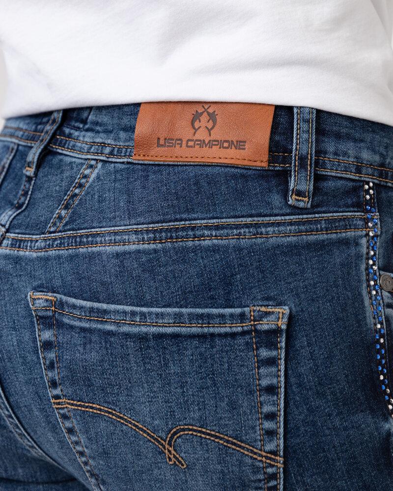 Spodnie Campione 1773210_121410_83400 niebieski - fot:4