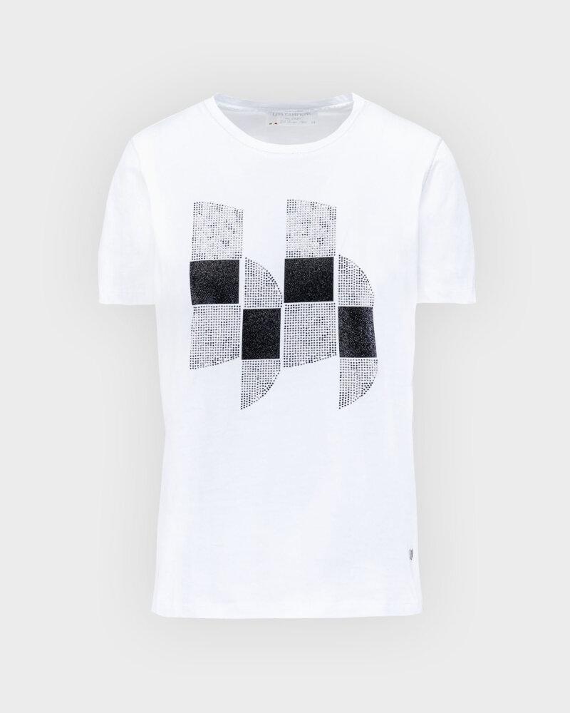 T-Shirt Campione 1723115_121130_10000 Biały Campione 1723115_121130_10000 biały - fot:1