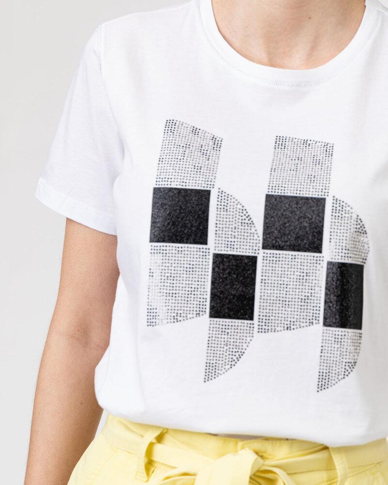 T-Shirt Campione 1723115_121130_10000 Biały Campione 1723115_121130_10000 biały - fot:3