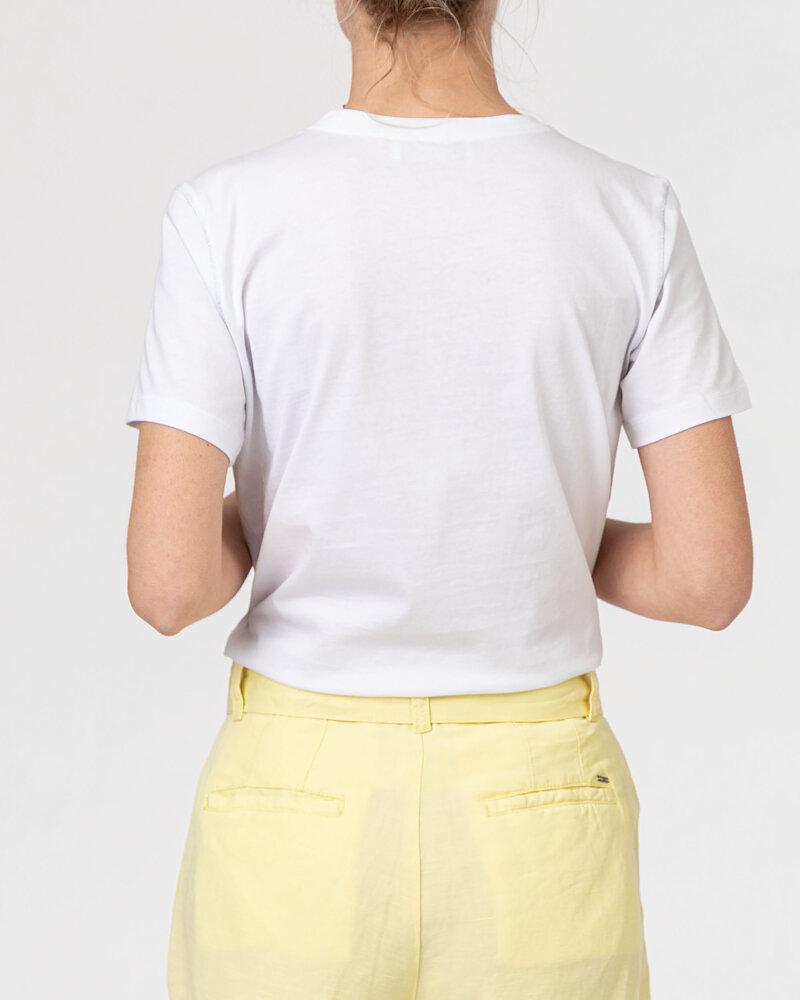 T-Shirt Campione 1723115_121130_10000 Biały Campione 1723115_121130_10000 biały - fot:4