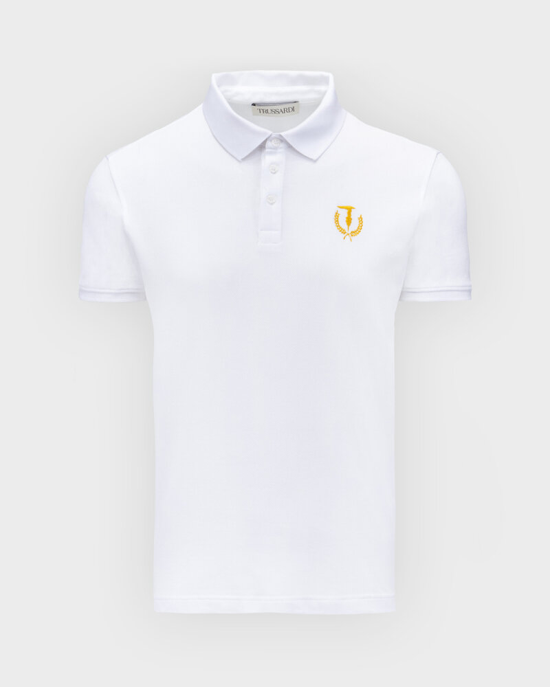 T-Shirt Trussardi  52T00506_1T003600_W001 biały - fot:1