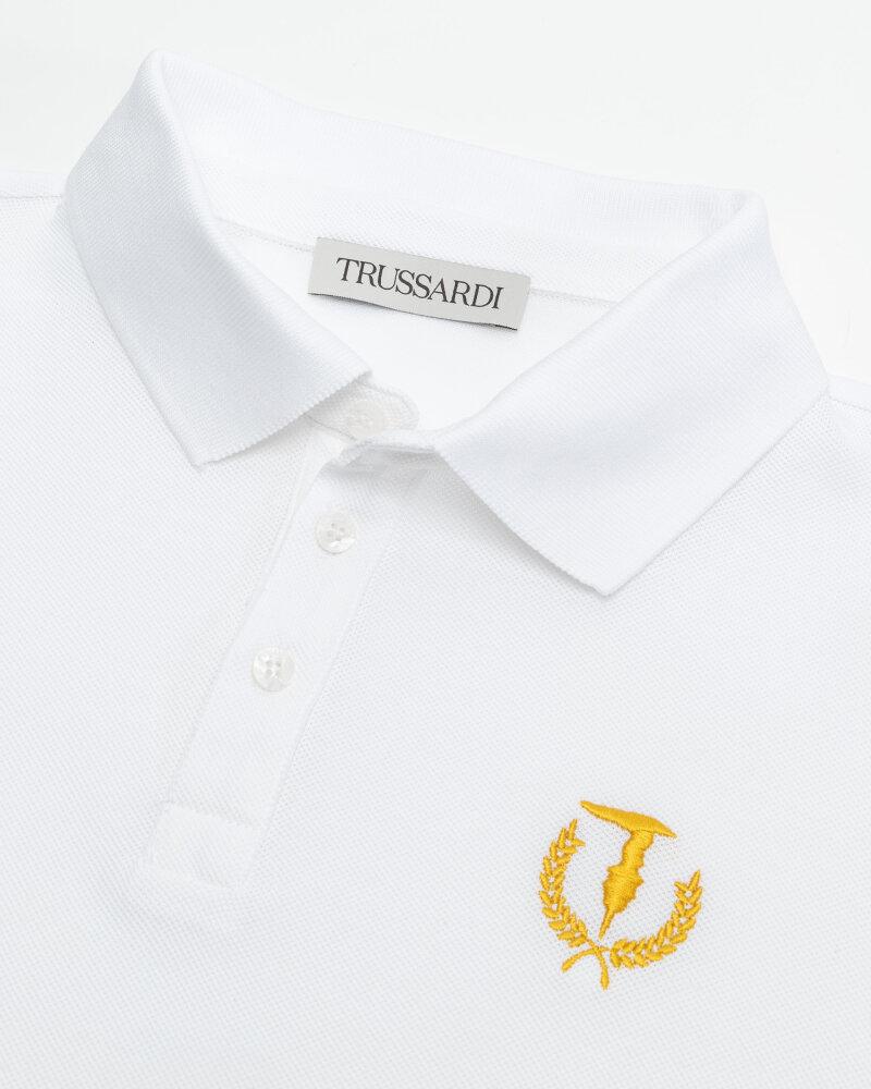 T-Shirt Trussardi  52T00506_1T003600_W001 biały - fot:2