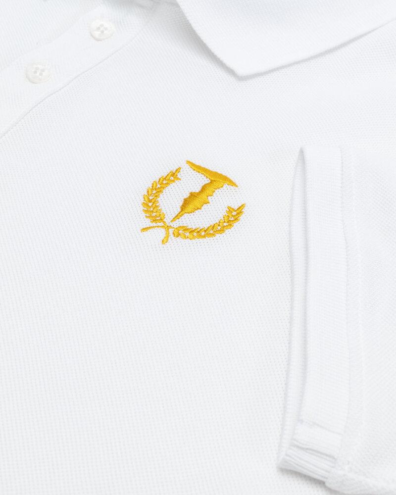 T-Shirt Trussardi  52T00506_1T003600_W001 biały - fot:3