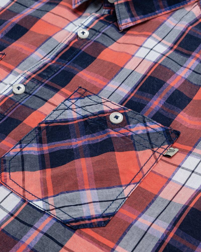 Koszula Pioneer Authentic Jeans 04353_07312_917 czerwony - fot:3