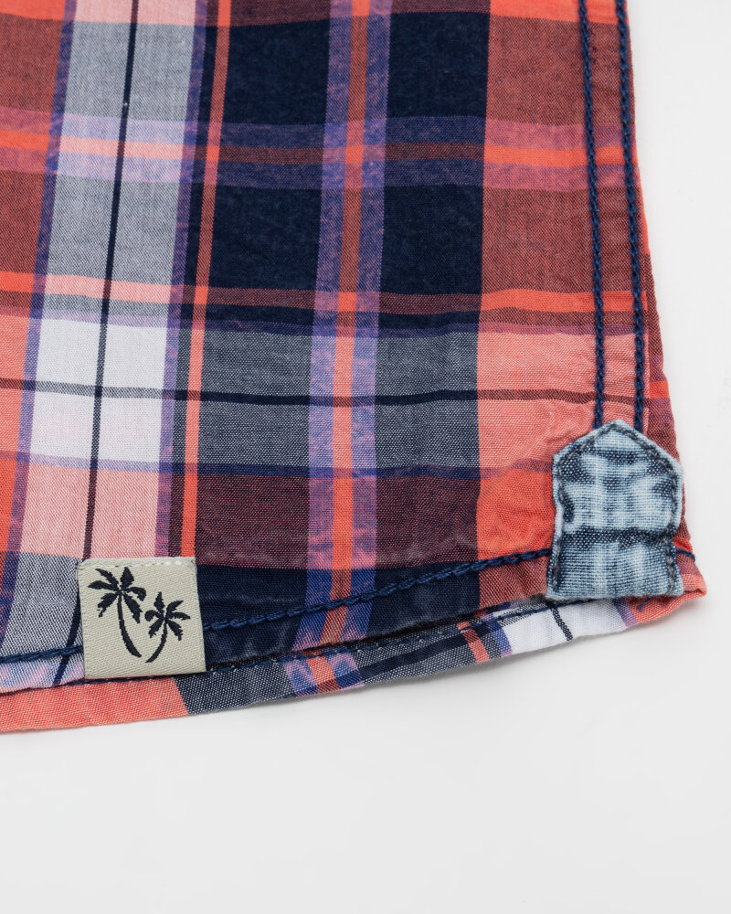 Koszula Pioneer Authentic Jeans 04353_07312_917 czerwony - fot:4