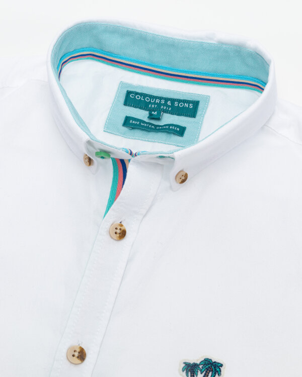 Koszula Colours & Sons 9121-200_201 WHITE biały