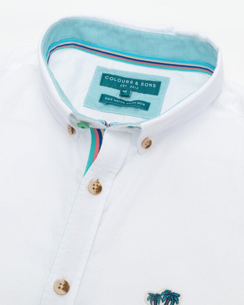 Koszula Colours & Sons 9121-200_201 WHITE biały - fot:2