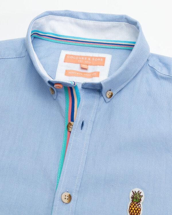 Koszula Colours & Sons 9121-200_205 SKY niebieski