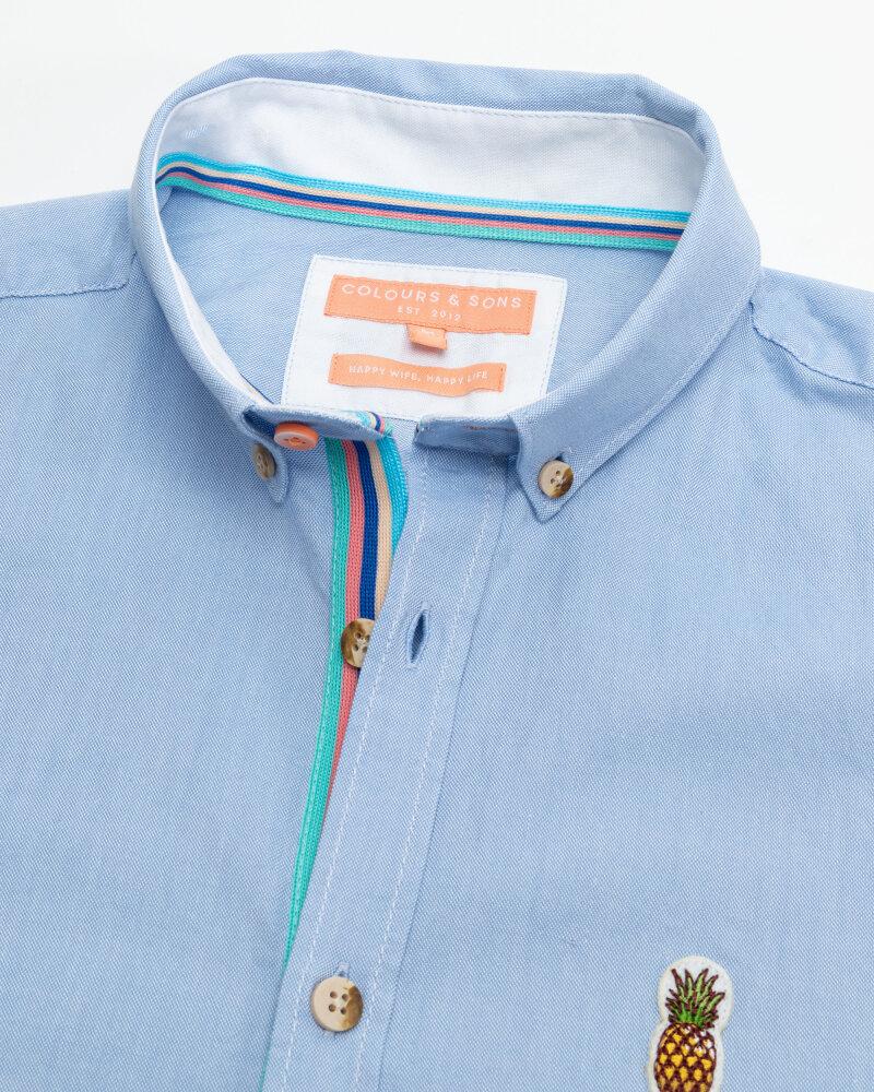 Koszula Colours & Sons 9121-200_205 SKY niebieski - fot:2