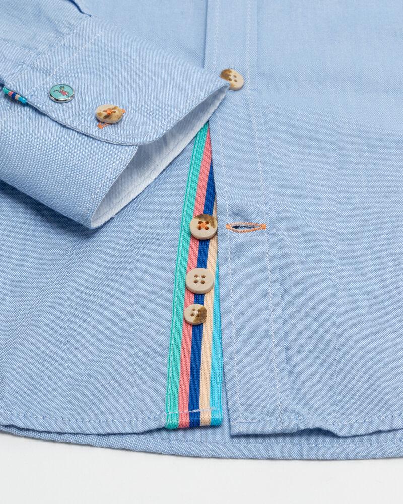 Koszula Colours & Sons 9121-200_205 SKY niebieski - fot:3