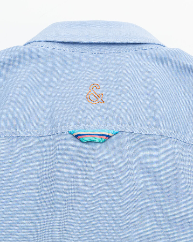 Koszula Colours & Sons 9121-200_205 SKY niebieski - fot:4