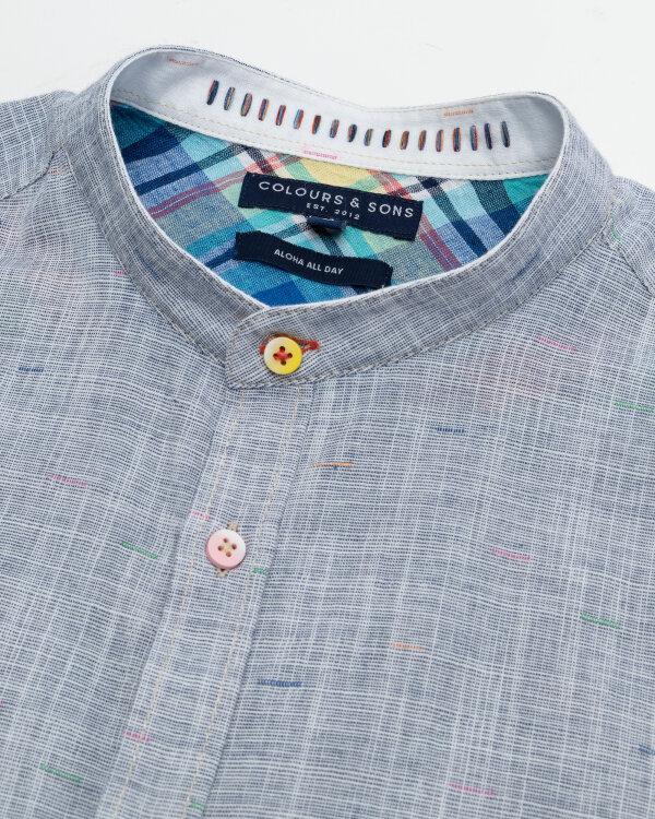 Koszula Colours & Sons 9121-230_237 MIDNIGHT NEPS niebieski