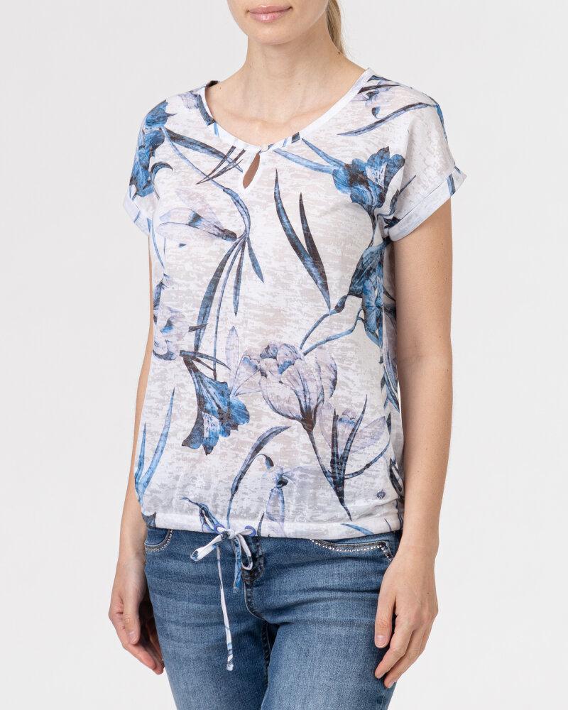 T-Shirt Campione 1583222_121130_83197 niebieski - fot:2