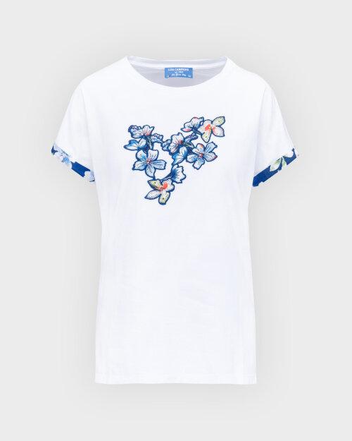 T-Shirt Campione 1873235_121130_10000 Biały Campione 1873235_121130_10000 biały